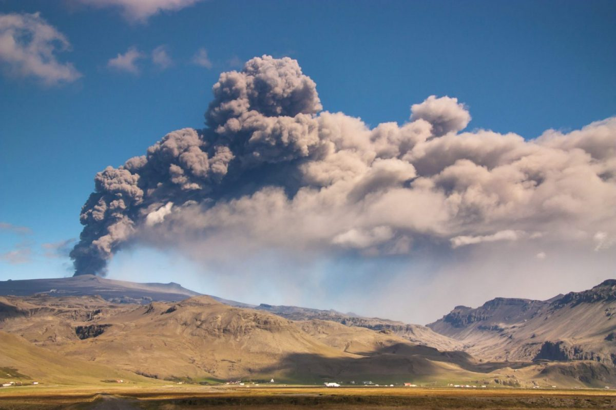 Iceland is famous for its many volcanoes