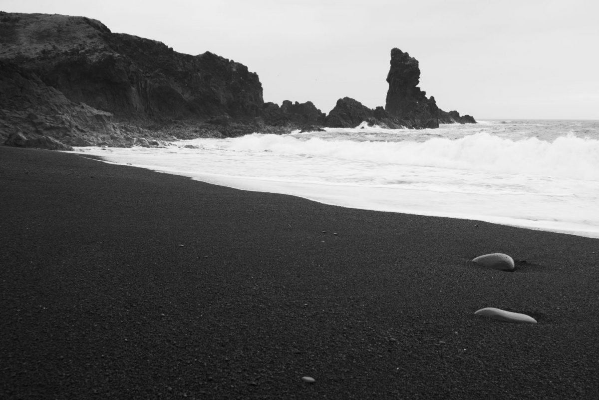 Black beach West Iceland