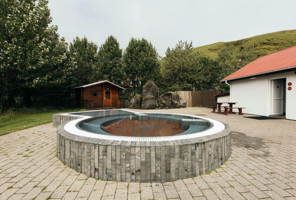 Hot Tub in Hotel Katla