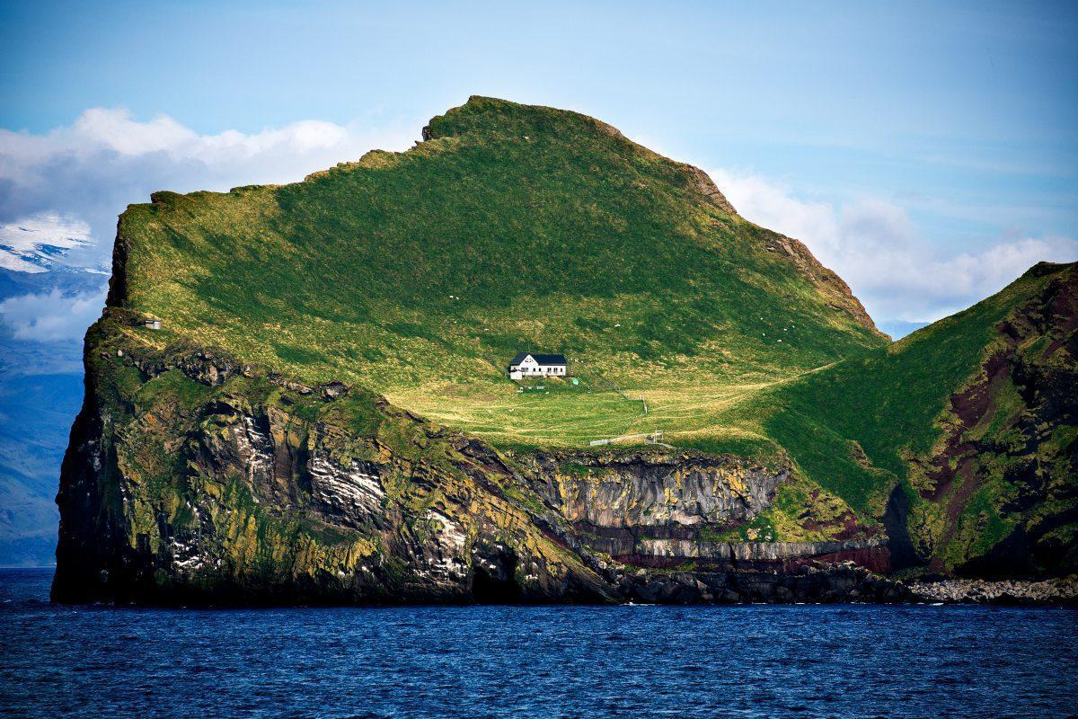The island of Ellidaey