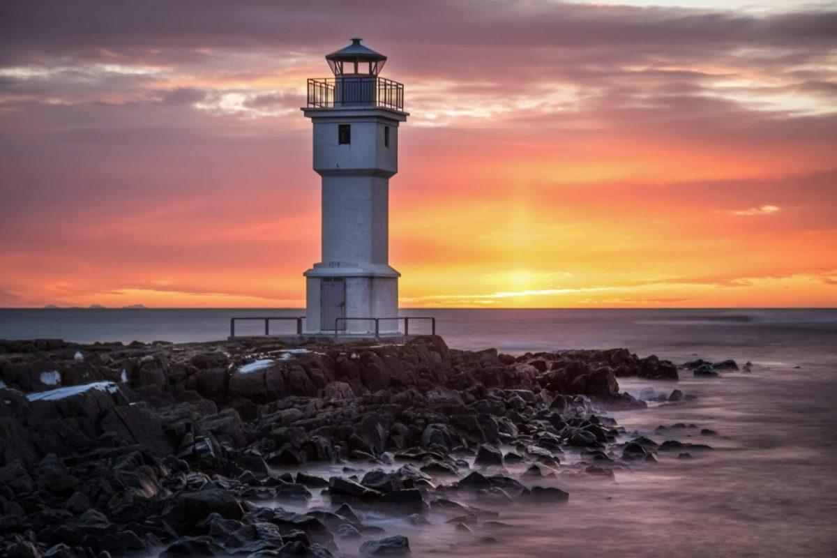 Lighthouse West Iceland