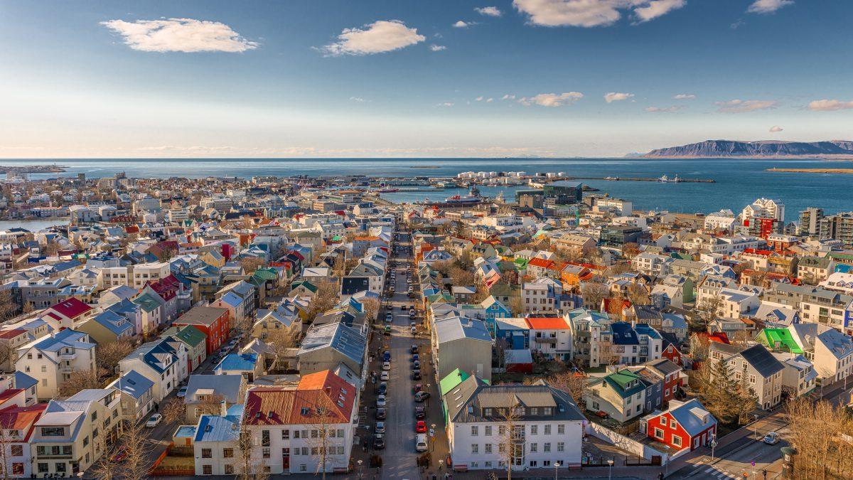 downtown reykjavik iceland