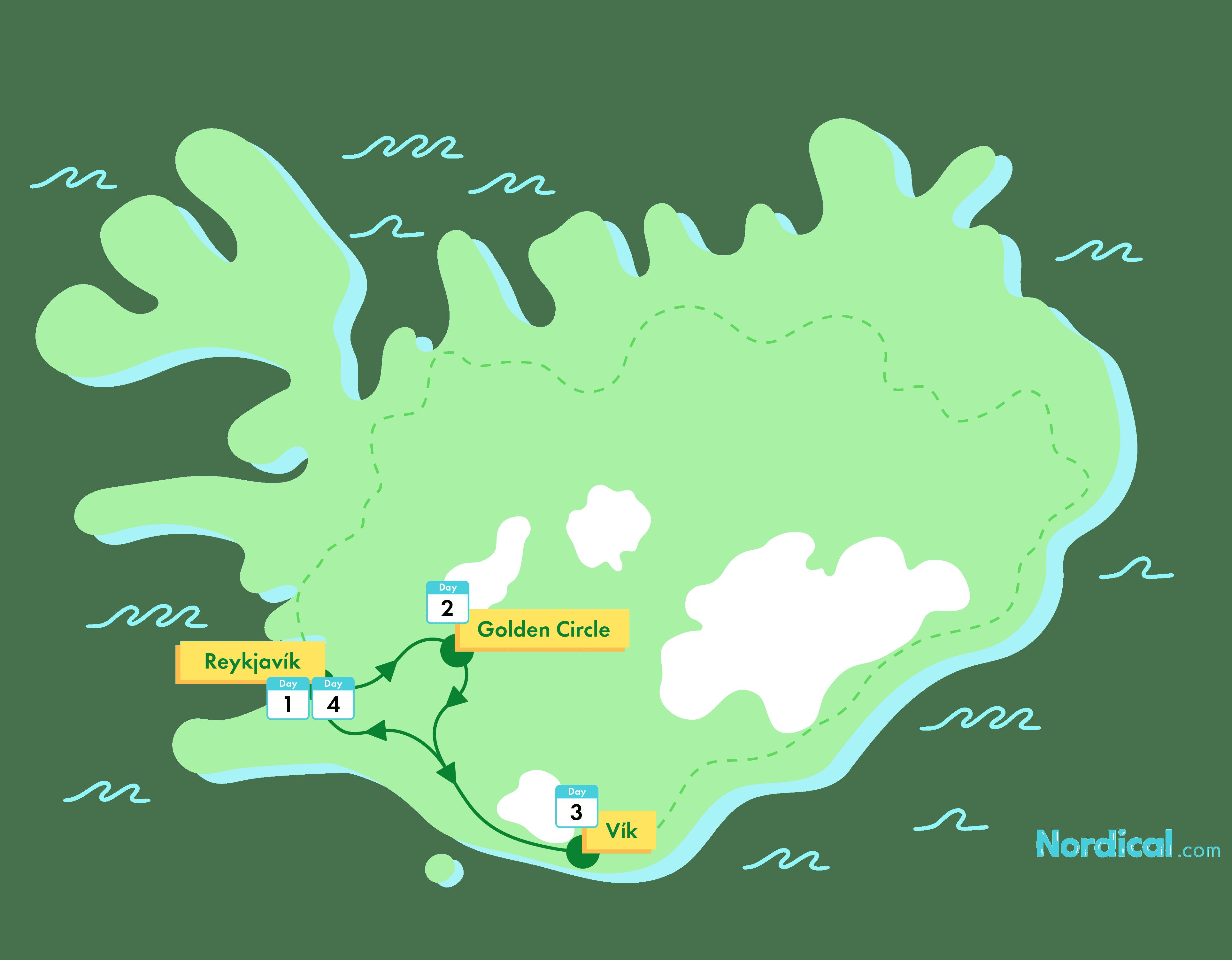 4-Day Iceland Winter Group Tour | Golden Circle & Reynisfjara - nordical travel