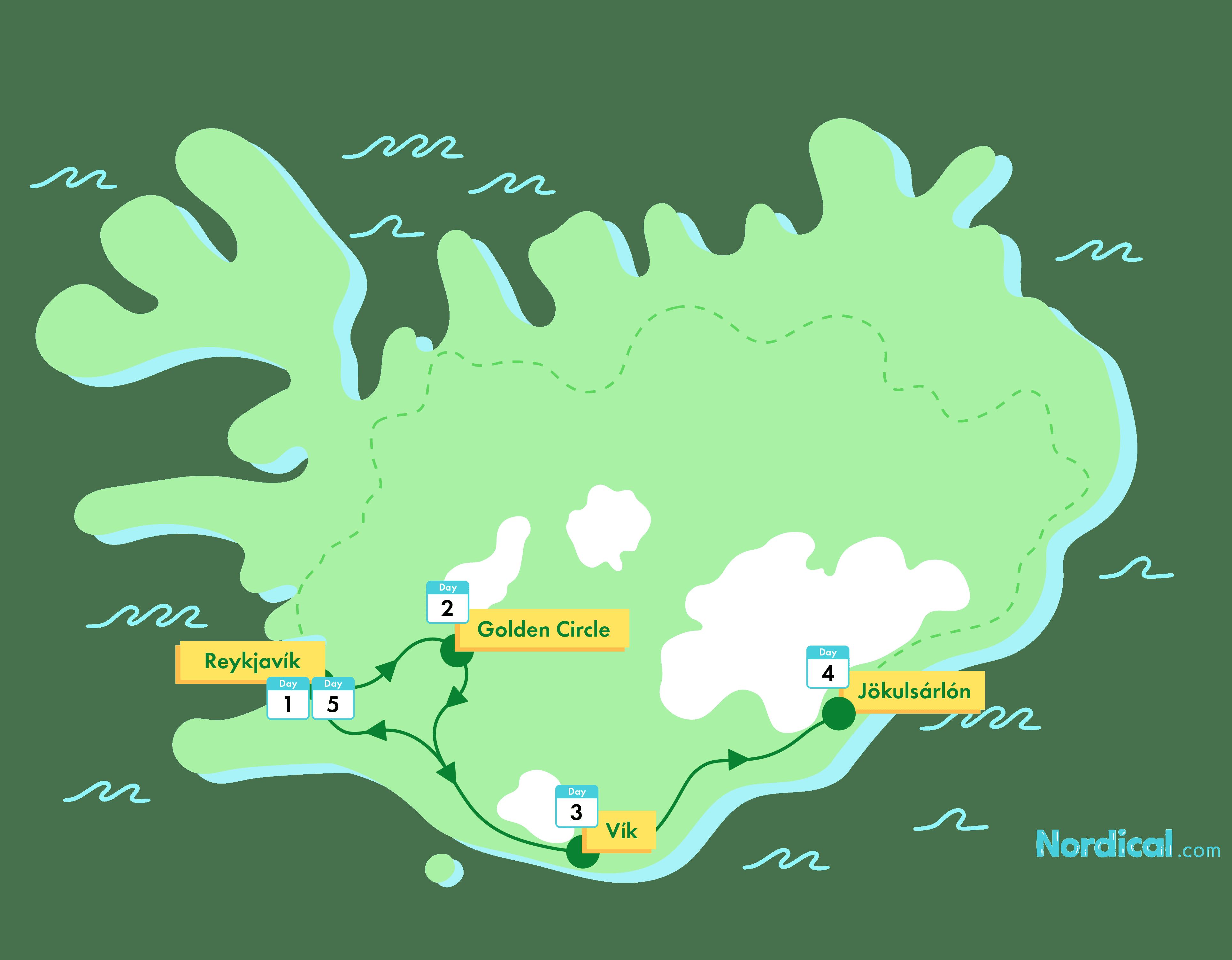 5-Day Iceland Group Tour | Jökulsárlón Glacier Lagoon - nordical travel