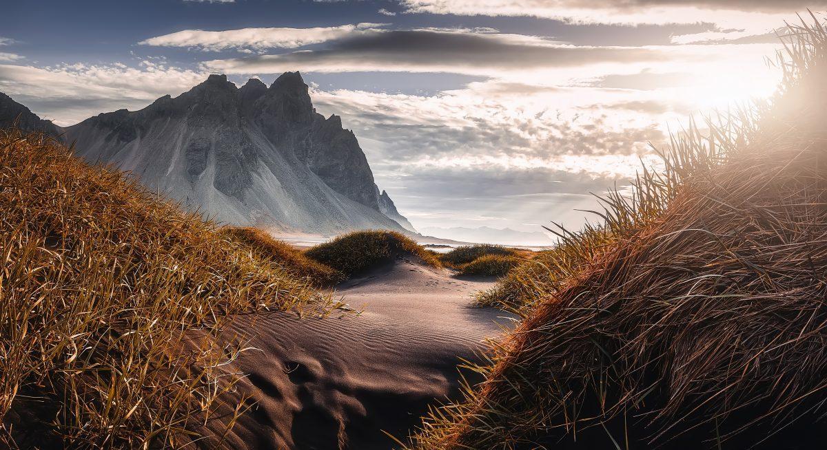 Vestahorn mountain on Stokksnes