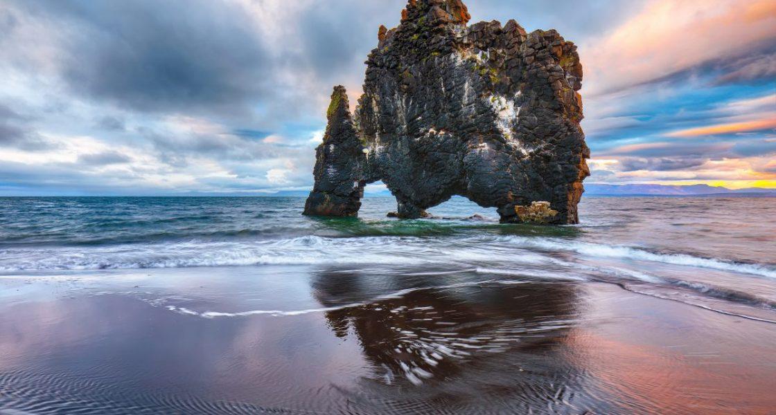 Hvítserkur in Northwest Iceland