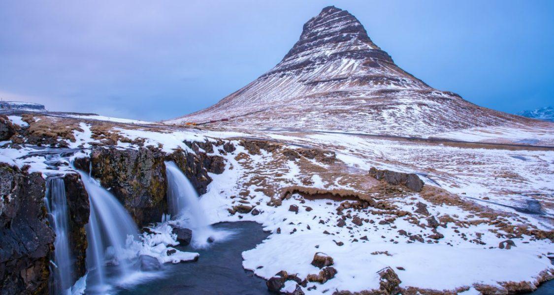kirkjufell mountain in snaefellsnes peninsula