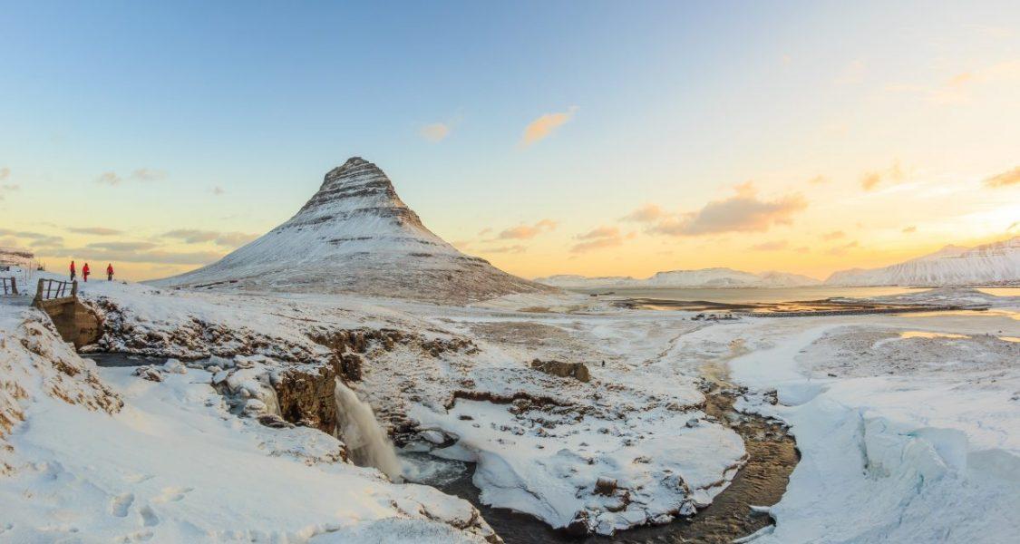 the arrow head mountain in iceland