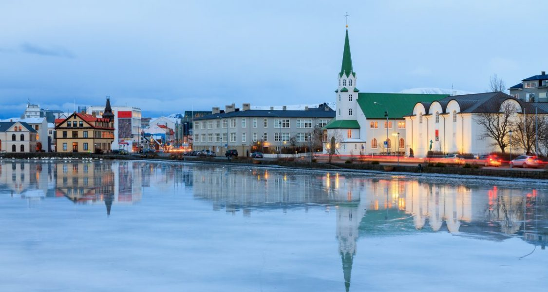 lake tjornin reykjavik