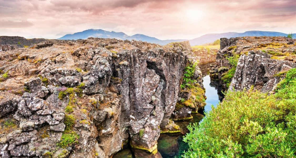 silfra fissure in iceland